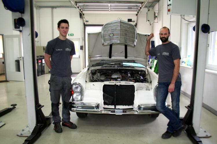Aufbereitung Mercedes